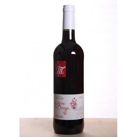 Carton de vin rouge Merlot cuvée 2014