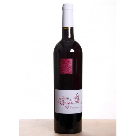 Carton de vin rouge Sens de la Garrigue Carignan cuvée 2014