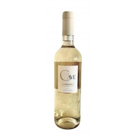 Carton de vin blanc Corbières  La Cave  2016